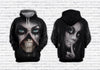 Skull 3D All Over Printed Hoodie, T-Shirt, Sweater natr101208
