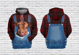 Scotland Farmer 3D All Over Printed Hoodie, T-Shirt, Sweater natr141201