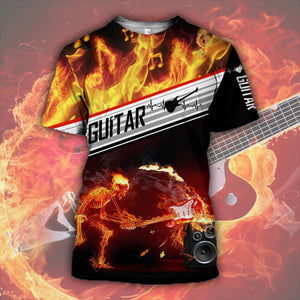 Electronic Guitar 3D All Over Printed Hoodie, T-Shirt, Sweater plh111201