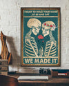 We made it Poster-bdh27082001