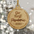 Our First Pandemic 2020 - Engraved Wooden Funny Pandemic Christmas Gift, Funny Holiday Gift - thvh07112008