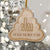 Our First Pandemic 2020 - Engraved Wooden Funny Pandemic Christmas Gift, Funny Holiday Gift - thvh07112010