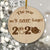 Our First Pandemic 2020 - Engraved Wooden Funny Pandemic Christmas Gift, Funny Holiday Gift - thvh07112015