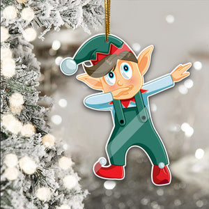 Christmas character Ornament, rustic tree decor, xmas tree, ornament gift - thvh09112028 - thvh09112032