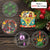 Hippie Collection Christmas Ornaments