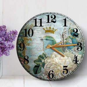 CUSTOM WOODEN CLOCK BEDROOM LIVING ROOM HOME DECOR