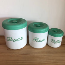 Nally Ware vintage canisters