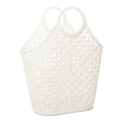 Sun Jellies Atomic tote CREAM