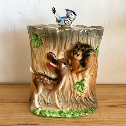 Bambi cookie jar