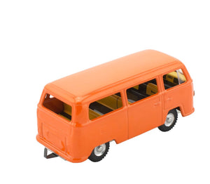 Tin toy orange Kombi