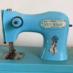 Holly Hobbie toy sewing machine