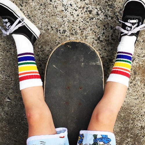 Sonnyboy rainbow socks