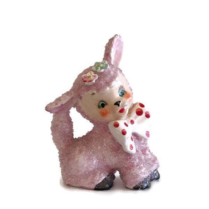 Kitsch 1950's sugar glaze lamb