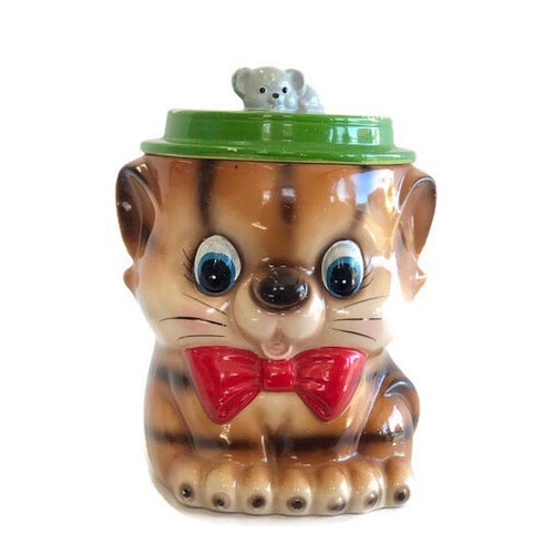 Kitsch cookie jar