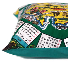 Australiana vintage tea towel cushion cover