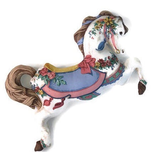 Carousel horse toy