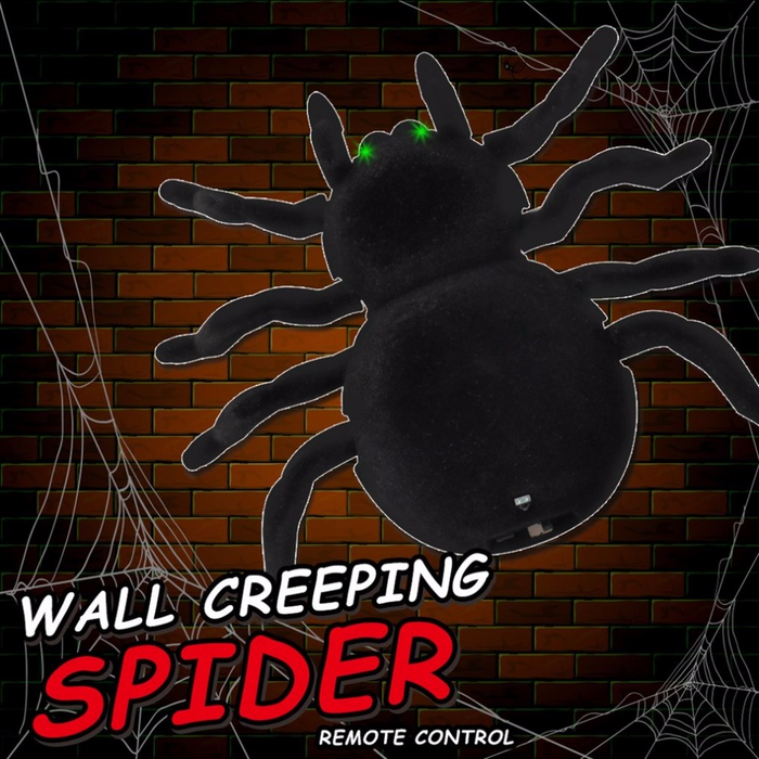 Electronic Remote Control Car Spider Climbing Wall Prank Holiday Rechargeable Stunt Suction Toys Gif