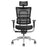 MOOJIRS Ergonomic Office Chair | Liftable Backrest Height Adj | Backrest Tilt Angle Adjustment | All-Mesh Design | Dynamic Lumbar | Seat Depth Adjustment | All-Aluminum Alloy Skeleton
