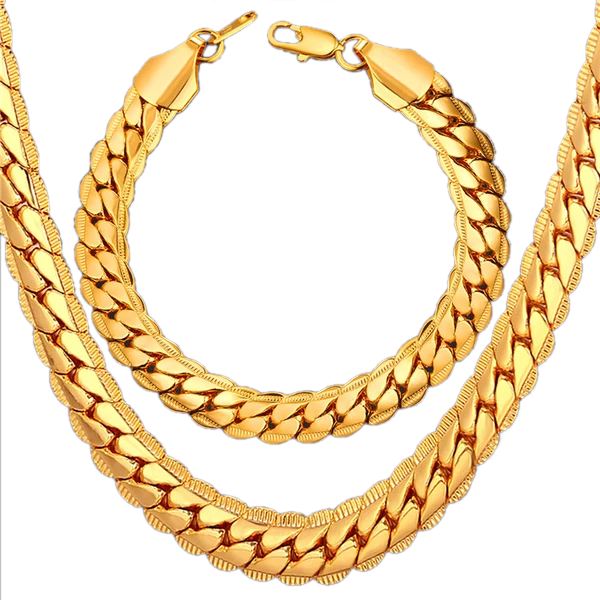 Chunky Luxurious Gold Bracelet