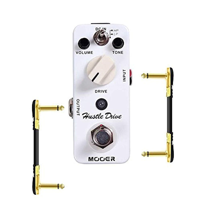 MOOER Hustle Drive Distortion Effect Pedal with True Bypass Guitar Effector Accessory