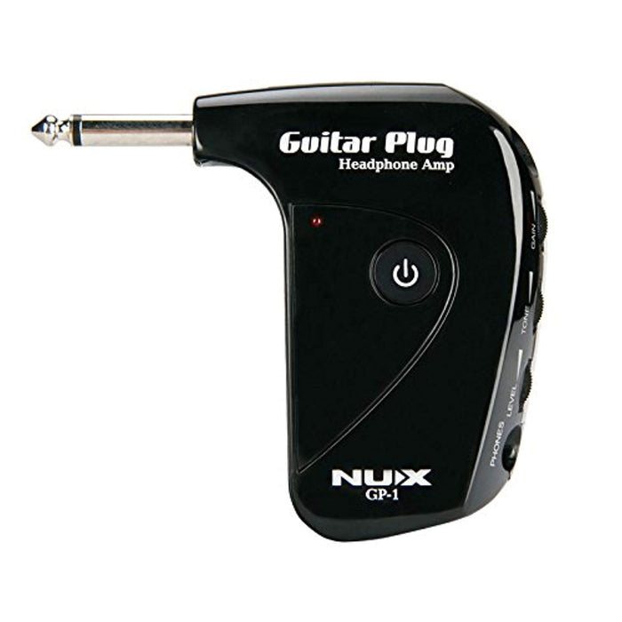 NUX GP-1 Guitar Plug Headphone Amp with Classic British Distortion Effect