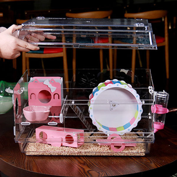 Hamster cage pet house