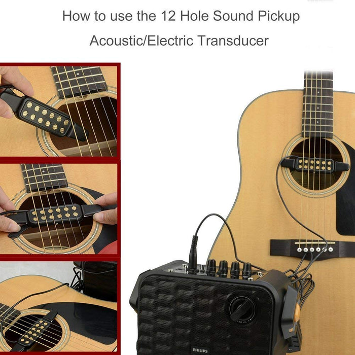 12 Hole Sound Pickup