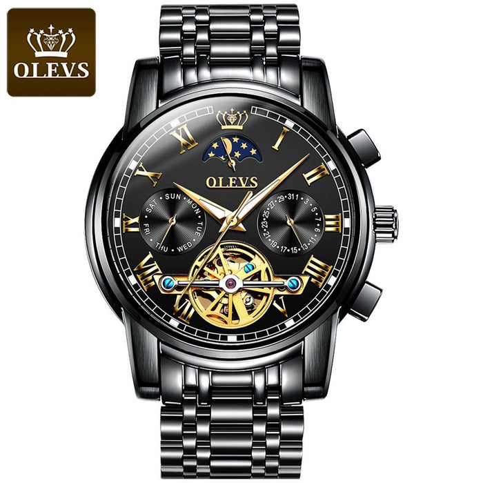 Automatic Mechanical Waterproof Business Men's Watch