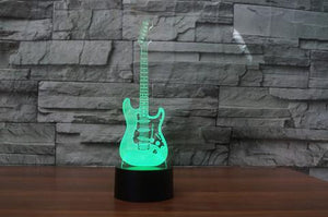 LED Electric Guitar Lamp