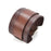Wide Leather Cuff Bracelet
