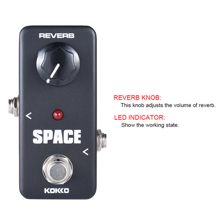 KOKKO FRB-2 Mini Space Reverb Guitar Effect Pedals