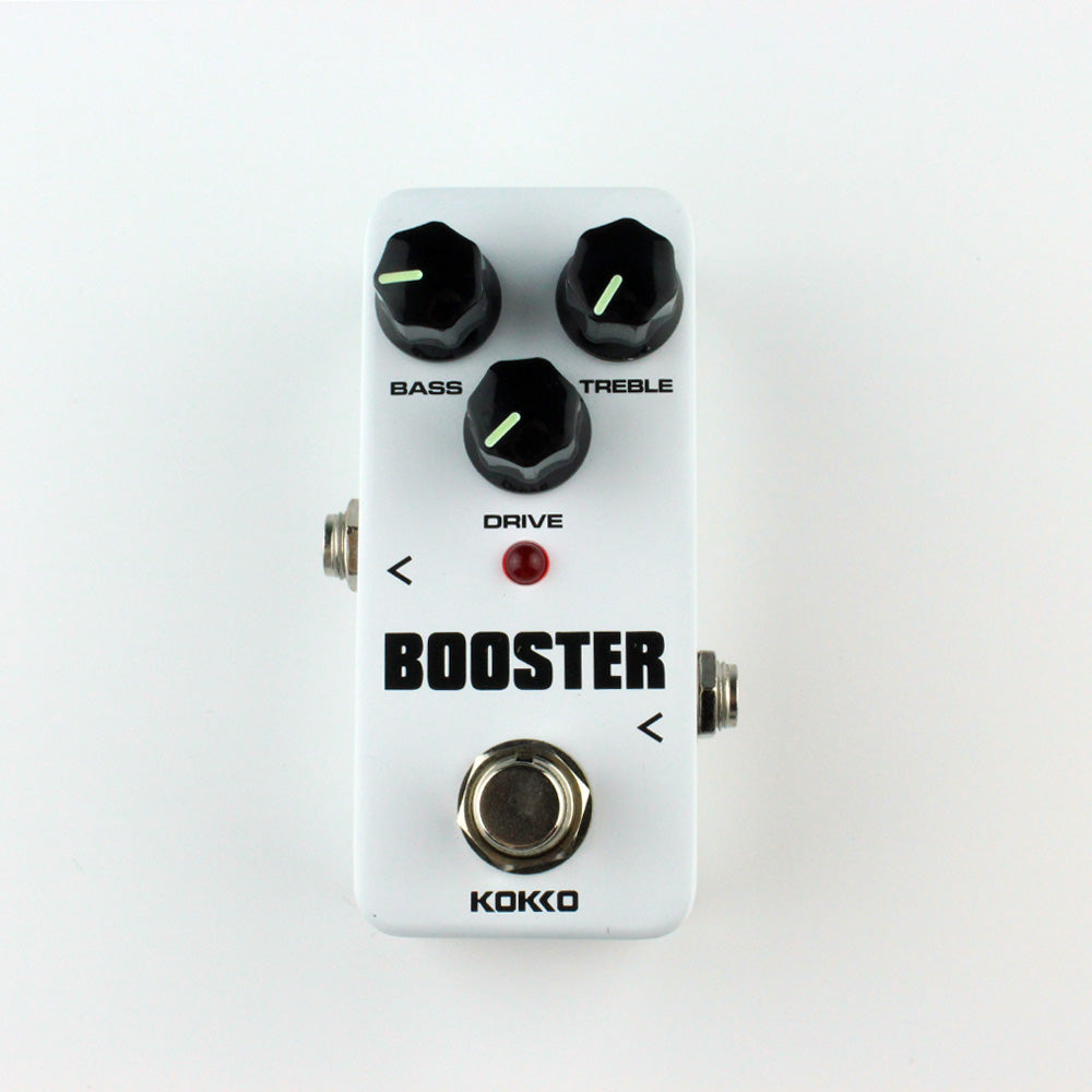 KOKKO FBS2 Mini Pedal Booster 2-Band EQ Electric Guitar Effect Pedal