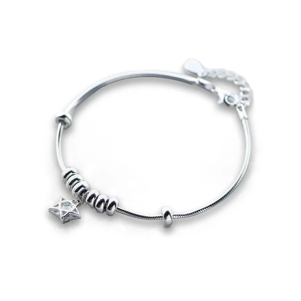 Shooting Star Sterling Silver Bracelet