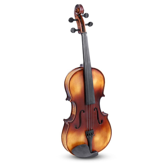 "High Quality 16"" Spruce Wood Viola with Carry Case Bow Rosin Accessory for Beginners"