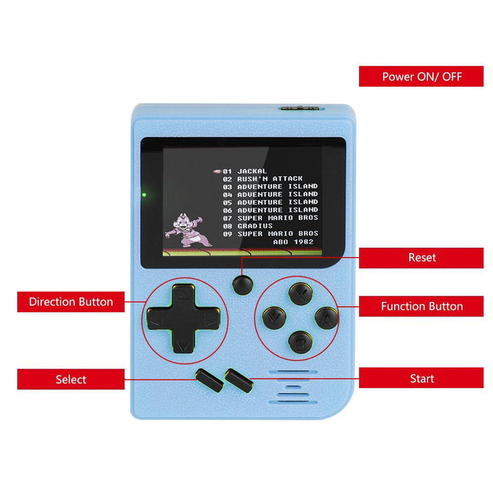 Handheld Color Screen Game Player
