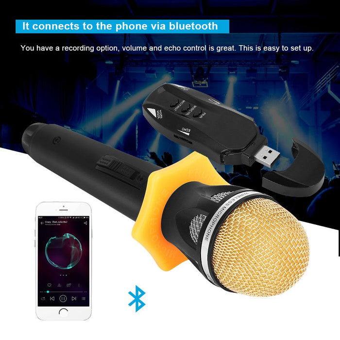 Portable Handheld Wireless Microphone