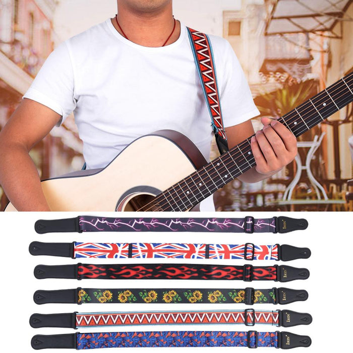 Adjustable Printed Guitar Strap