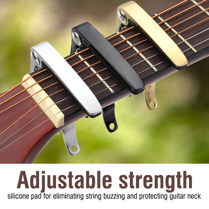 Quick Change Metal Clamp Capo