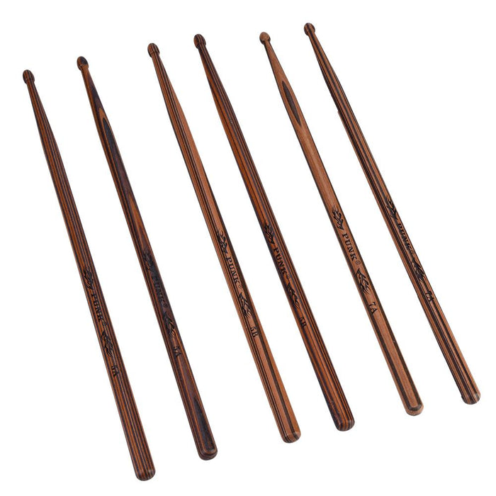 Durable Maple Wood Drop-Shaped Drumsticks