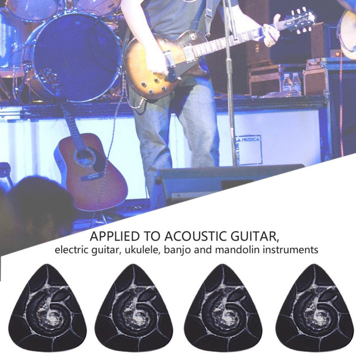 10Pcs 0.6mm Plastic Picks Plectrums
