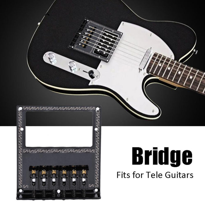 Electric Guitar Chrome Bridge