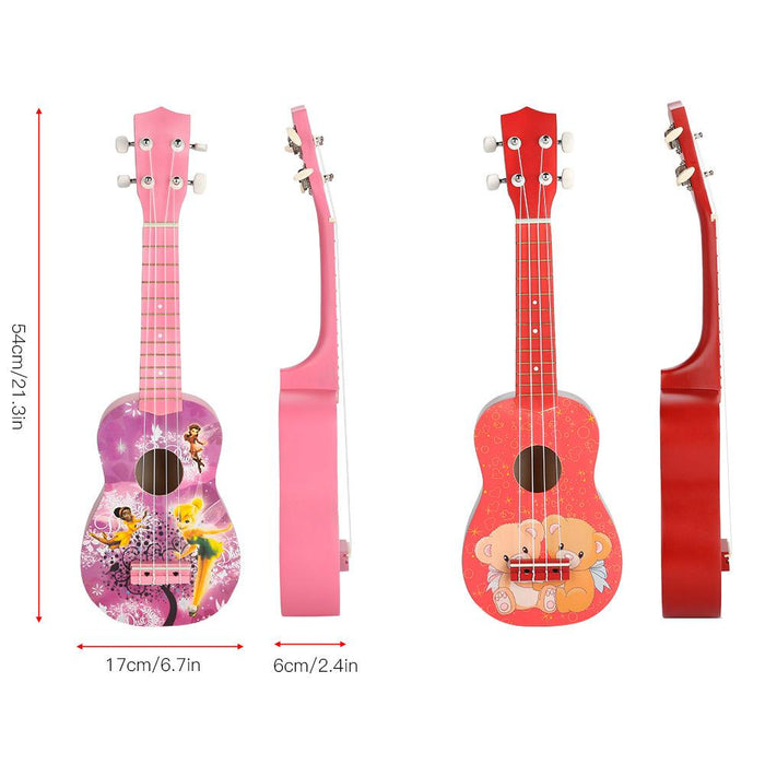 21 Inch Solid Wood Ukulele