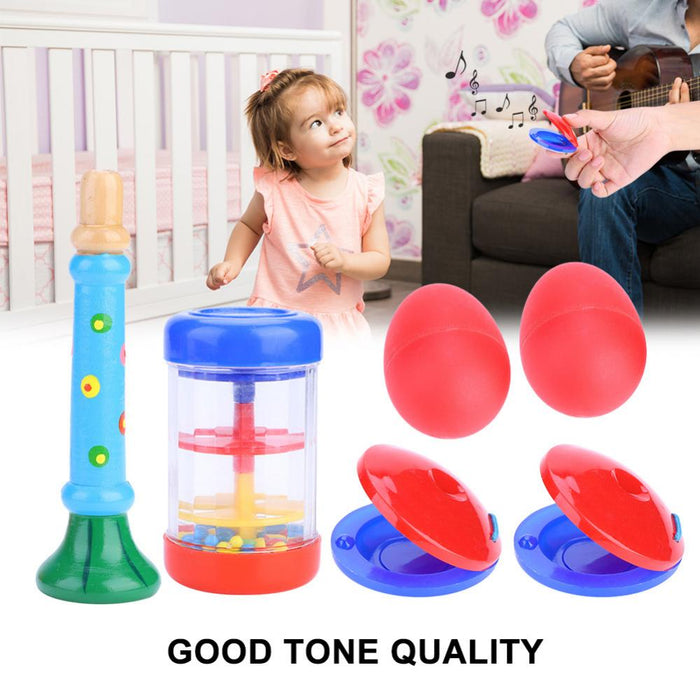 6Pcs Musical Instruments Educational Toy