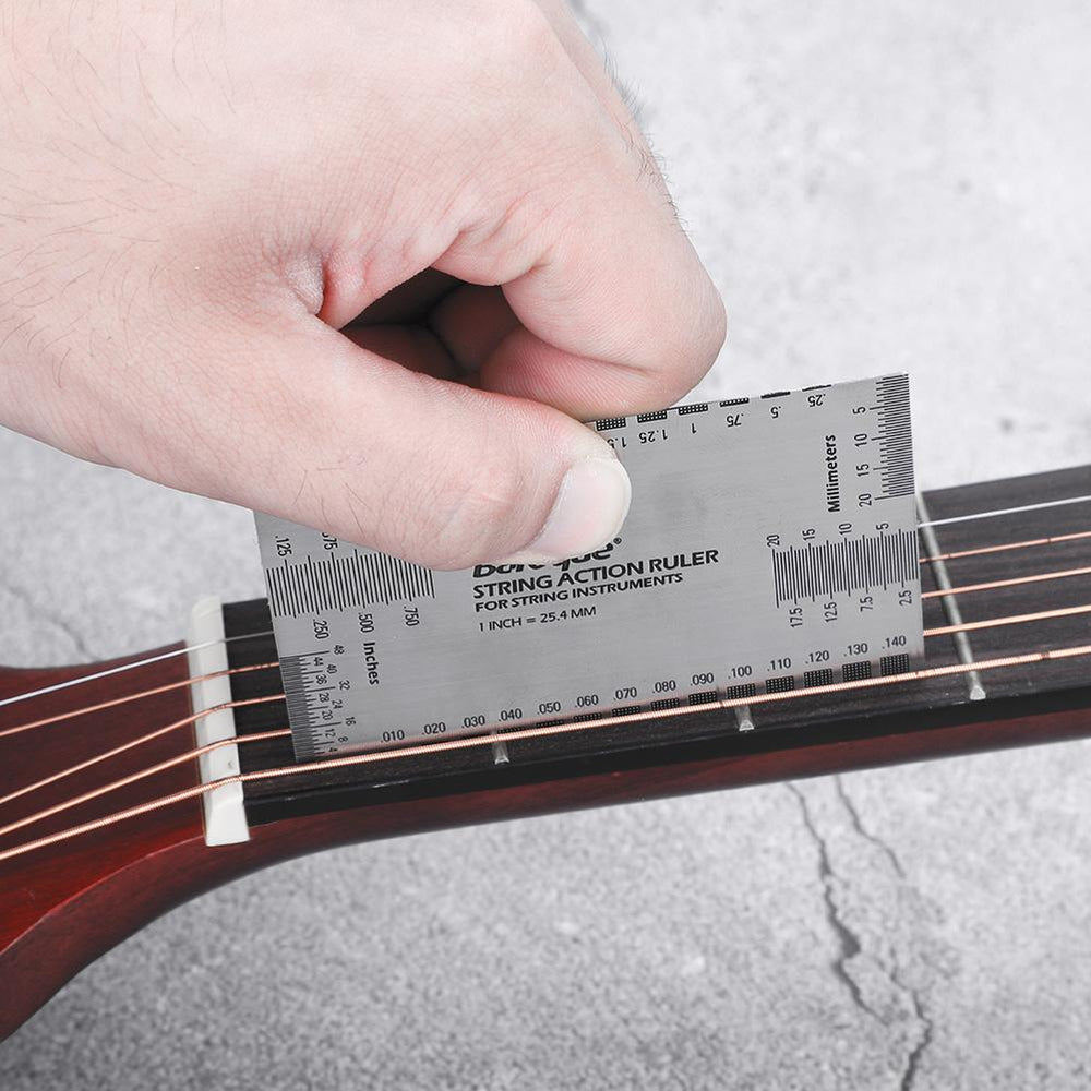 Stainless Steel String Action Ruler