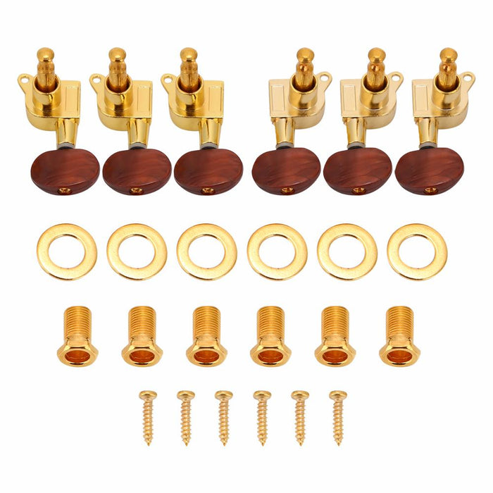 3L3R Tuning Pegs Locking Tuners Machine Heads for Acoustic Electric Guitar
