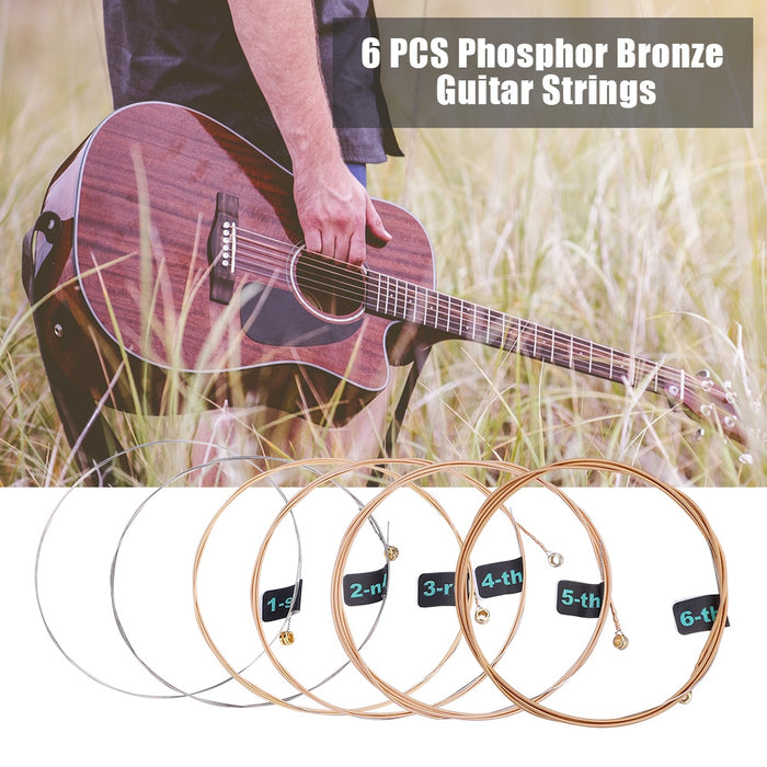 6 PCS High Quality Guitar Strings
