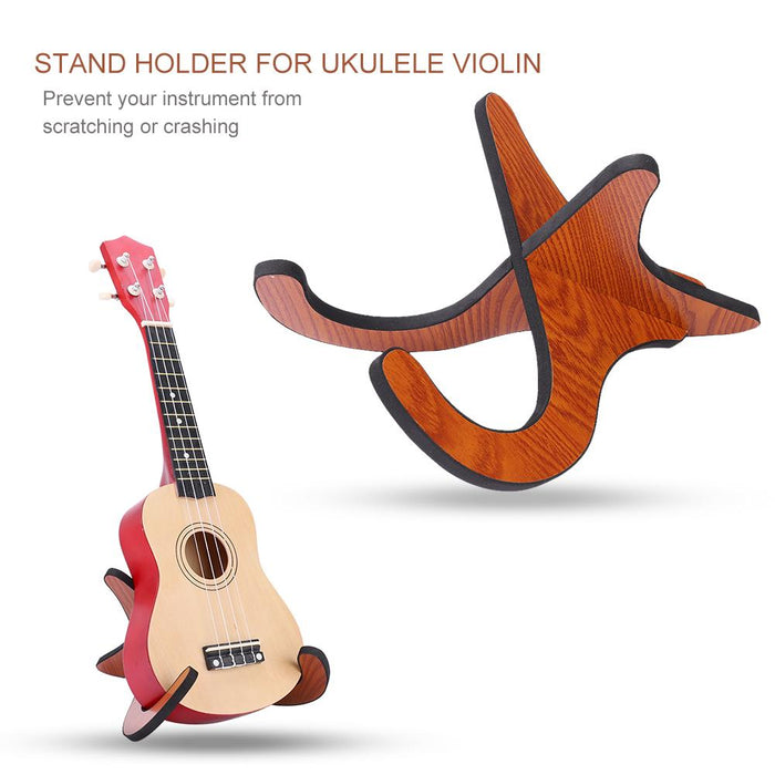 Wooden Detachable kulele Stand