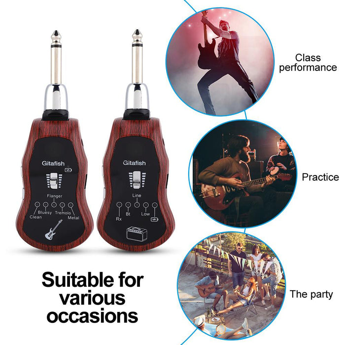 B6 Portable Bluetooth Guitar Effector