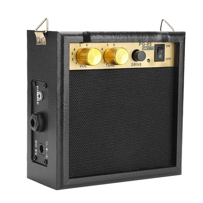 PG-05 5W DC 9V Powered Electric Guitar Amp Amplifier Speaker with Volume