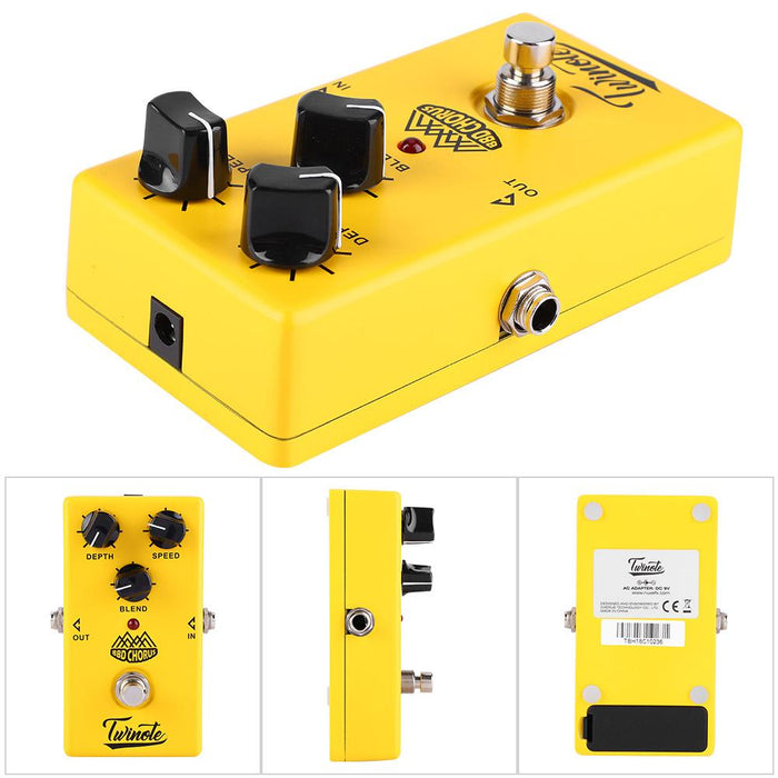 NUX Twinote BBD Chorus Effect Single Block Effector for Electric Guitar